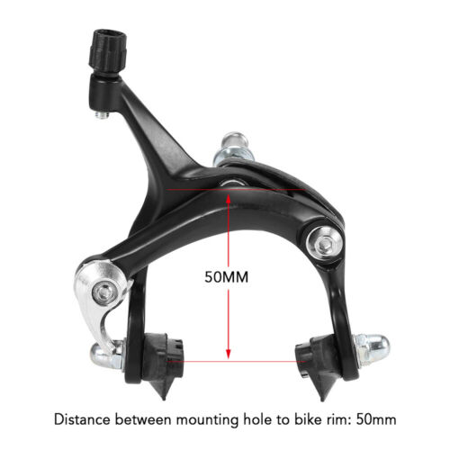 Front//Rear Bike Cruiser Brake Kit MTB Road Bicycle Caliper Brake Side Pull Set
