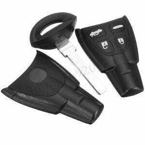 Per-SAAB-93-95-9-3-9-5-sostituzione-remoto-chiave-FOB-bossolo-4-pulsante-riparar