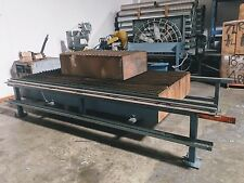 fabrication manufacturing sawyer service table burn