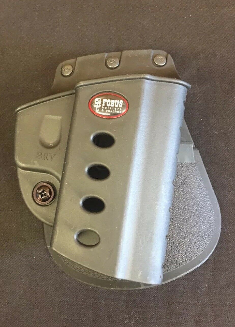 Fobus BRVP Paddle Holster Fits Beretta greenec & Taurus 92,99 w Rails Display Mod