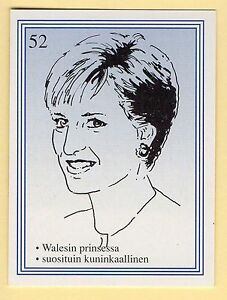 1990s-Finnish-Film-Star-Card-Fame-Alias-52-UK-Royal-Family-Princss-Lady-Diana