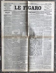 N124-La-Une-Du-Journal-Le-Figaro-14-Avril-1900