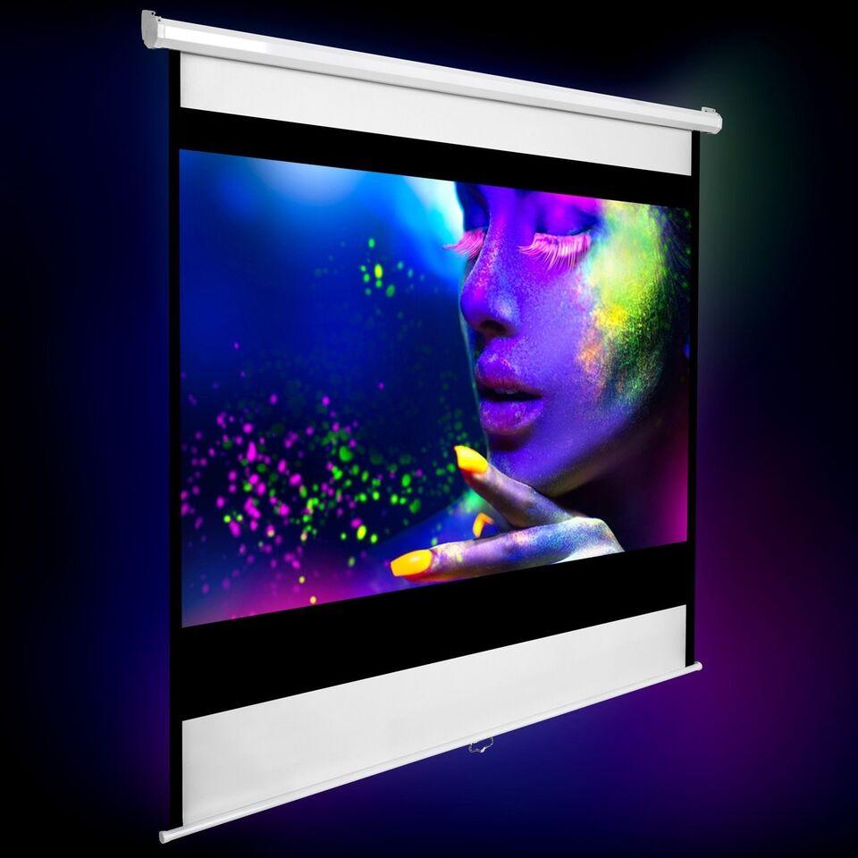 Andet, Andet mærke, HDTV Projektorlærred 152 x 152 cm
