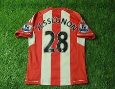 SUNDERLAND # 28 SESSEGNON 2012-2013 FOOTBALL SHIRT JERSEY HOME ADIDAS ORIGINAL