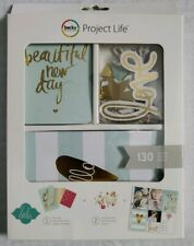 Project Life HEIDI SWAPP 12x12 GOLD FOIL 12-PK POCKET PAGES scrapbooking 98178