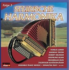 Steirische Harmonika 3 Robert Neumair, Fam. Laimer, Andreas Terzer & Das .. [CD]