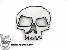 ill Gear MONSTER White GITD SKULL Patch Tactical Survival glow in dark