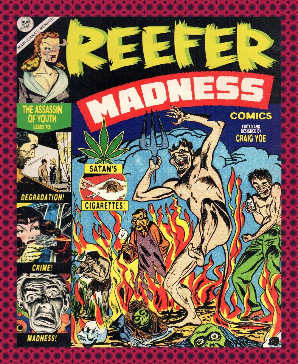 8863.Decoration Poster.Home room interior print.Reefer Madness.Marijuana cult
