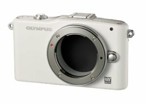 Olympus-Miralles-Slr-Pen-Mini-E-Pm1-Body-White-E-Pm1-Body-Wht