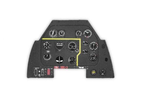 Yahu Models 1//48 North-American P-51D Mustang Late Instrument Panel for Tamiya