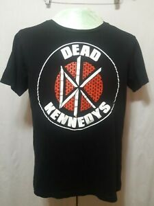 Dead-Kennedys-Official-2015-Black-T-Shirt-Red-Brick-Logo-Mens-Size-Large-EUC