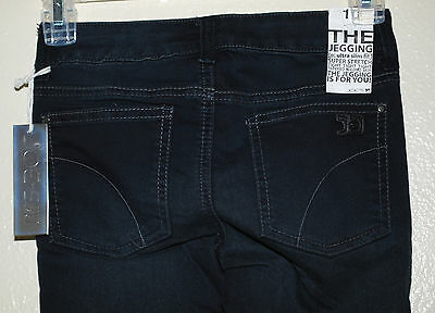 JOE/'S JEANS Girls The Jegging ultra slim fit Stretch in Super Smooth Black sz 12