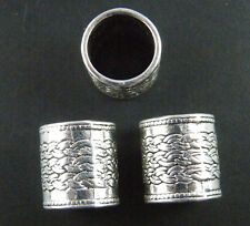 20pcs Tibetan Silver Big Hole Tube Spacers Fit Bracelet 14x12.5mm 10156