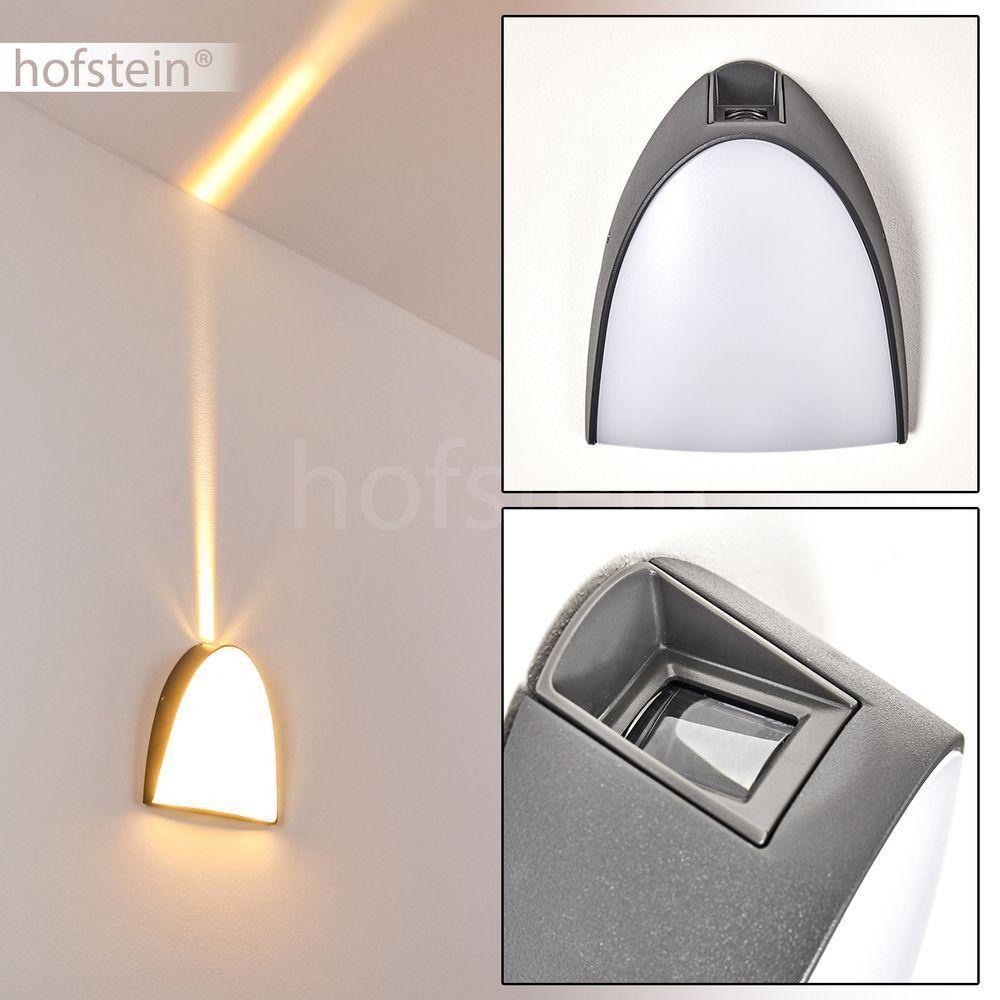 Außen Wand Leuchten LED Einfahrt Garten Hof Terrassen Haus Tür Lampe Lichteffekt