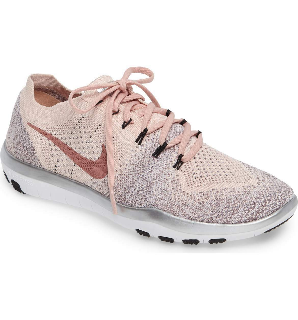 New Nike Free Flyknit Focus 2 Bionic Training Shoes 10.5 Blush Sunset Pink