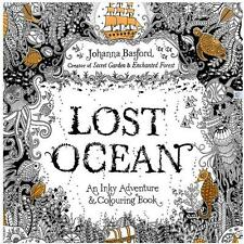 Item 2 Secret Garden Lost Ocean An Inky Adventure And Coloring Book By Pencil Gift