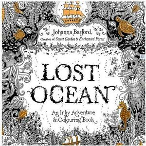 Image Is Loading Secret Garden Lost Ocean An Inky Adventure And