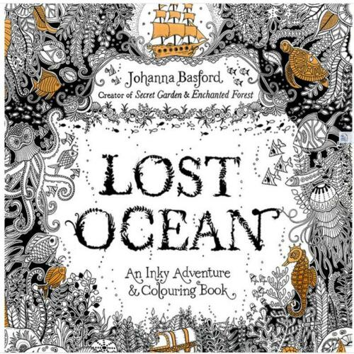 Lost Ocean An Inky Adventure And Coloring Book By Pencil Gift 8