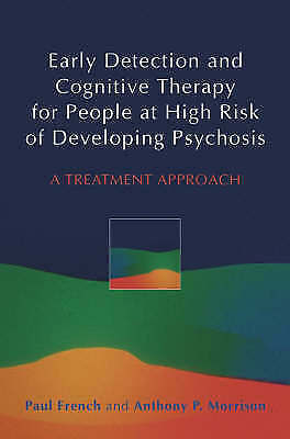 1 of 1 - Early Detection and Cognitive Therapy for People at High Risk of-ExLibrary