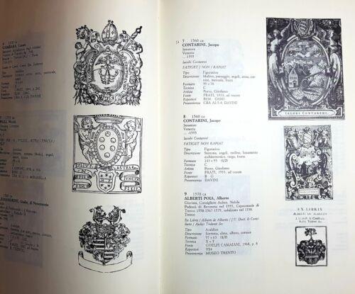 Gli ex libris italiani dalle origini alla fine dell/'Ottocento Bragaglia 3 vol.