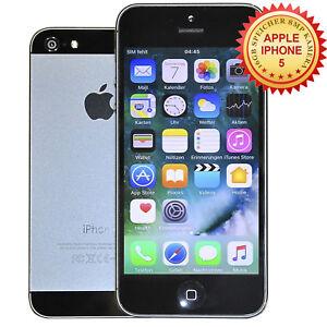 Apple-iPhone-5-16-GB-NERO-GRAFITE-senza-blocco-SIM-smartphone-CONTO-con-iva