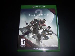 9c6fac0f259 Replacement Case (NO GAME) Destiny 2 Two XBOX ONE 1 XB1 100 ...