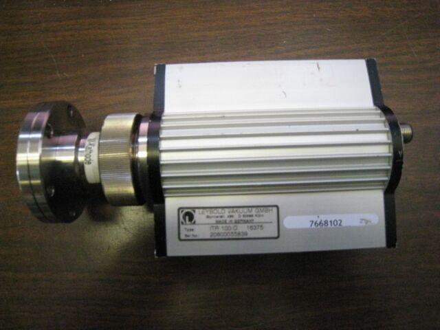 LEYBOLD ITR100-D ION GAUGE IONIZATION SENSOR TRANSMITTER VACUUM GAUGE