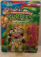 Teenage Mutant Ninja Turtles Tmnt 1993 - Robotic Rocksteady Purple Weapons
