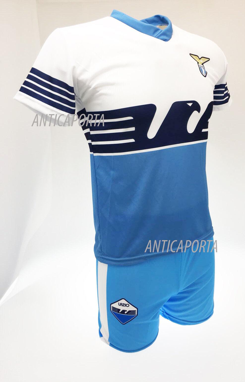 Set Lazio Rom Rom Rom neutral 2019 neu Logo offizielle SS Adler Trikot Shorts e5fff7
