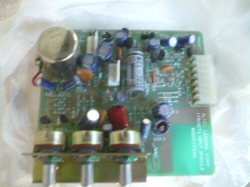 T 1781AT Input Module New Altec Lansing 4005117900 1781A