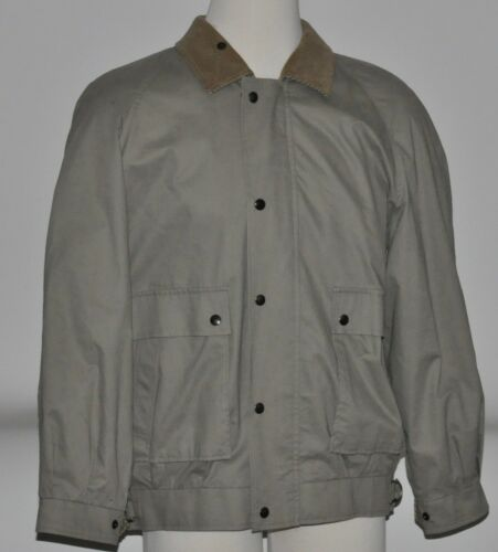Burberry Cotton Beige Bomber/Flight Jacket Coat Me