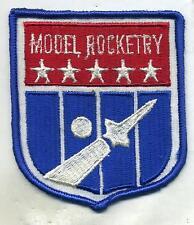 Vintage Civil Air Patrol Model Rocketry Program Patch