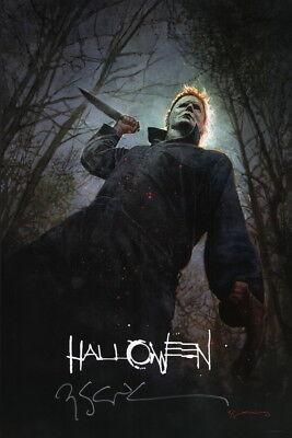 Halloween Jason.2018 Sdcc Exclusive Bill Sienkiewicz Signed Halloween Jason Voorhees Art Poster Ebay