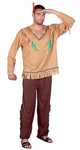 Hommes Costume Dindienne Déguisement Ml Ou Indien Damérique