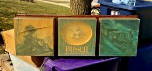 Vintage Busch Bavarian ~Light Up~ Beer Sign (needs Work)