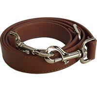 1 Wide Brown Adjustable Cross Body Replacement Purse Strap Handbag