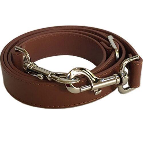 "1"" Wide Brown Adjustable Cross Body Replacement Purse Strap Handbag"
