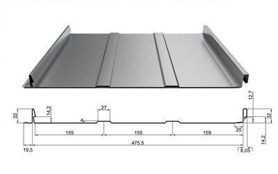 Selbsverschlußpaneel Trapezbech Profilbleche Herzhaft Aluminium Dachpaneel Dp-32