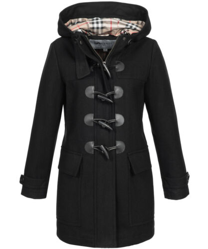 con Cappotto cappuccio da donna invernale Cappotto Fashion Sovestus di lana Cappotto qZFz4FUg