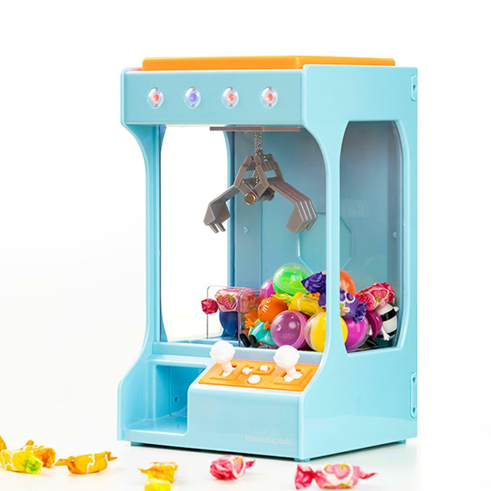 Arcade Candy Grabber Machine Toy Game Claw Crane Gadget Children Kids Fun Gift