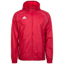 adidas Core 18 Rain Jacket Jacke rot WEISS XS   eBay aa7226b536
