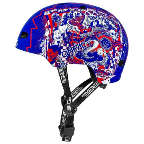 ONEAL Dirt Lid ZF Rift Bicicletta MTB BMX CASCO Mountain Bike Fidlock magnetico skate