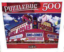 Cra-Z-Art Amusement Park Concession Signs 500 Piece Jigsaw Puzzle