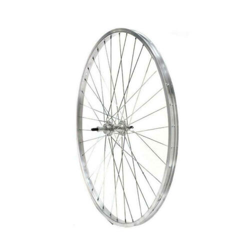 Rear Wheel 26x1-3//8 Aluminum 7v Silver R26P1387VAL RIDEWILL BIKE Bicycles