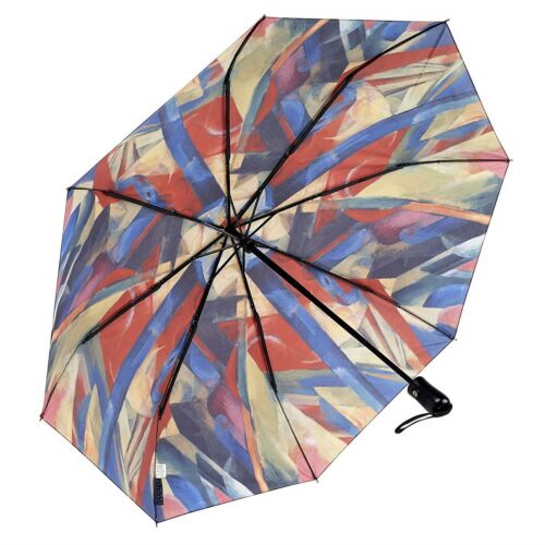 Galleria Franz Marc Stables Automatic Open Close Folding Compact Umbrella Boxed