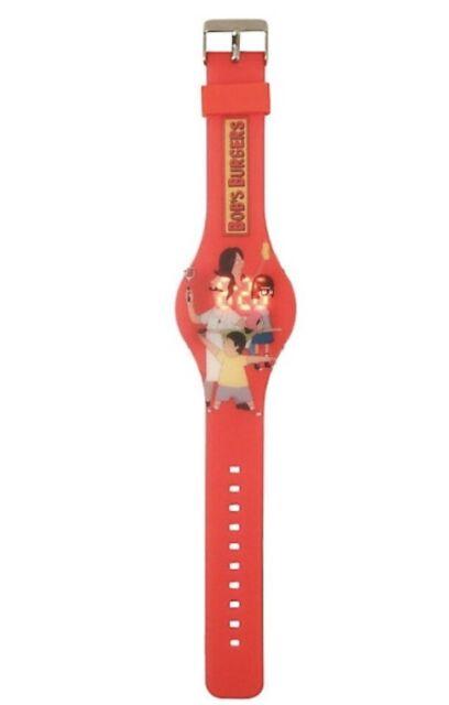 Bob's Burgers Belcher Family LED Digital Rubber Wrist Watch