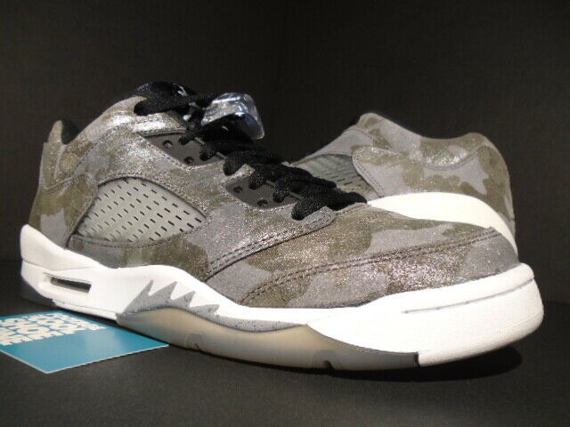 NIKE AIR JORDAN V 5 RETRO PREMIUM LOW GG ALL STAR GREY SILVER 819951 003 9.5