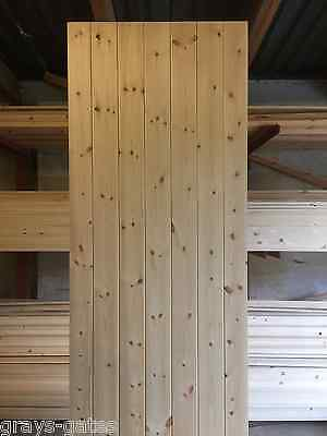 Farmhouse Style T/G Ledge & Brace Close Boarded Interior Doors - Softwood Pine