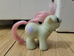 My Little Pony G1 SLEEPY HEAD Baby Newborn Hasbro Blue Good Condition 1983