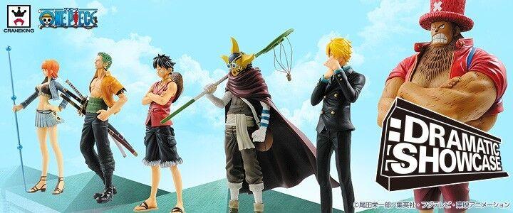 One Piece Dramatic Showcase 3rd Robin Luffy Sanji Zoro Nami Banpresto figure Jpn